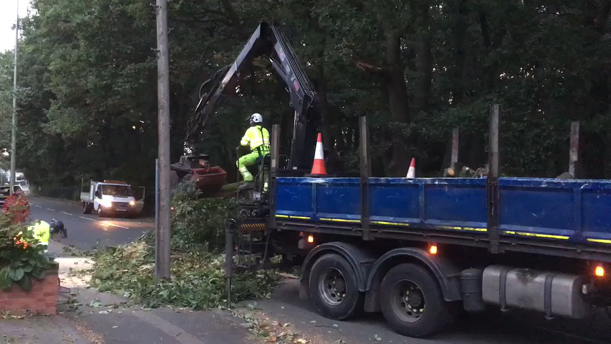Clean-Up Begins After Storm Ali Batters Parts Of Britain