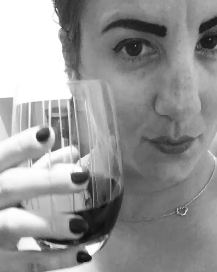 Cheers to two months living in NYC! Woot woot! 🍷 kmKnhCx3S8