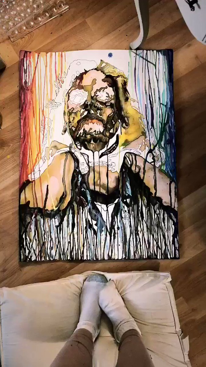 Painting Alieen 💋 #Goddess lnWcme6YB9