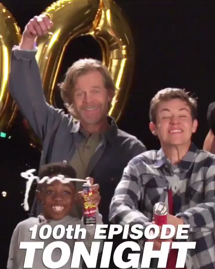 Tonight I'll be tweeting live for our 100th EPISODE!! Thank you fans! What a JOY! #Shameless100 https://t.co/PBNCnsQ2kd