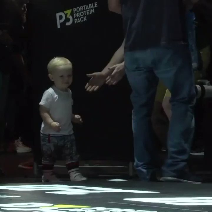 RT @espn: Conor McGregor Jr. is just a year old, but already has his dad's swagger. https://t.co/GlESE3Oc2V