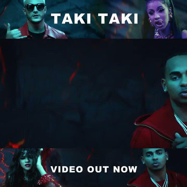 #TakiTaki official video is out now! Watch on @YouTubeMusic: https://t.co/L3lz9Y0fRW @DJSnake @IamCardiB @Ozuna_PR https://t.co/tHWkivOyTa