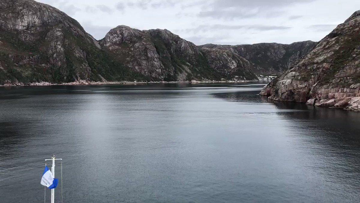 RT @alanthomasdoyle: Entering Francois.  South Coast.  Wow.   @AdventureCanada https://t.co/BglJpeWOiN