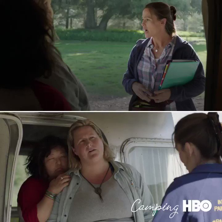 Sharing some of my fave moments. Tmrw tmrw tmrw!!! @hbo 10PM #CampingHBO https://t.co/wlpksfXqde