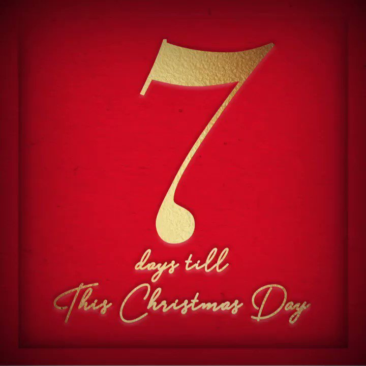 "7 DAYS until my Christmas album featuring ""Rockin' Around the Christmas Tree"" is available worldwide!! ???? https://t.co/LoWV7NYu5m"