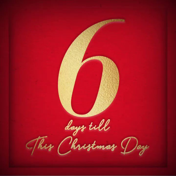 "6 DAYS till 'This Christmas Day' including my version of ""Let It Snow"" is out everywhere!! ❄️???? https://t.co/3END37H7TJ"