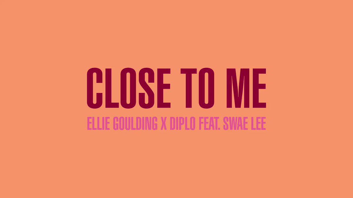 Close To Me with @diplo ft @goSwaeLee ???? https://t.co/e09KebB1wE https://t.co/8cRXScK5vH