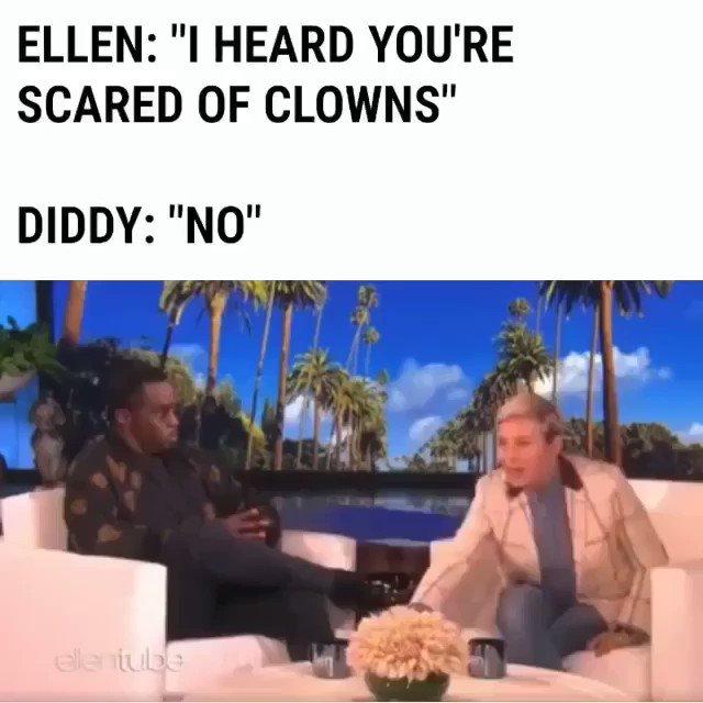 I'm not scared of clowns ???????? https://t.co/eloFsVVXp9