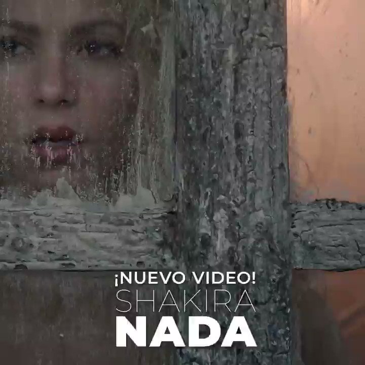 RT @SonyMusicLatin: ¡Nuevo! @shakira estrena su video #Nada. ¡Dale play aquí ???????? https://t.co/oWBygXChgO! #ElDorado https://t.co/ivSQXlUcEg
