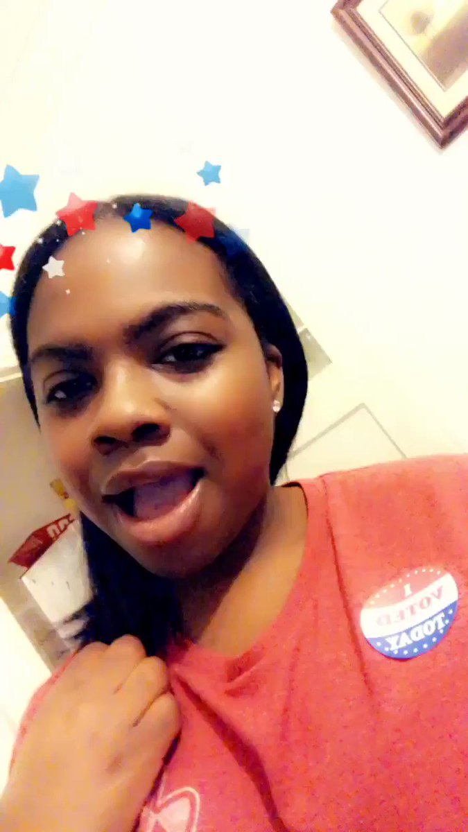 RT @ikea_lashay9: Voting with a twist @tonibraxton thanks for the encouragement #PhenomenalVoter https://t.co/oQBVUCMqTB