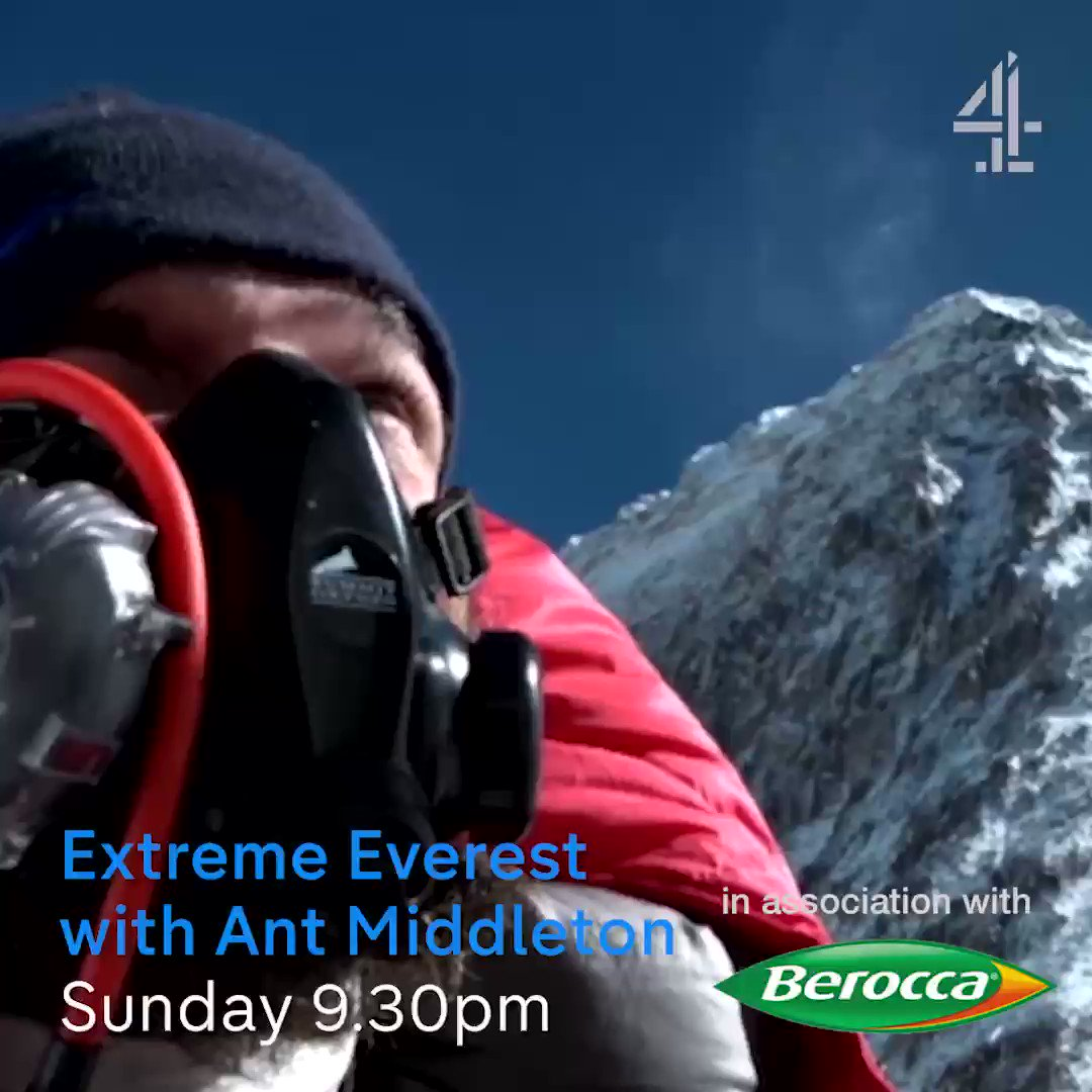 RT @Parable_Works: #ExtremeEverest on ⁦@Channel4⁩ this Sunday at 21:30 https://t.co/25VzCE7PtW