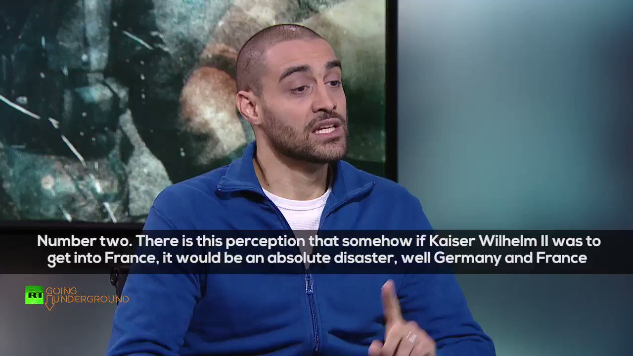 """""""There's the argument WW1 was the defence of small nations...Belgium killed 10 million in the Congo & Britain were occupying 12.7 million miles!""""🤔  @Lowkey0nline reveals inconvenient truths about World War 1 and more! #ArmisticeDay100  Watch the full interview TMRW on RT UK! https://t.co/K9zc6dBRjv"""