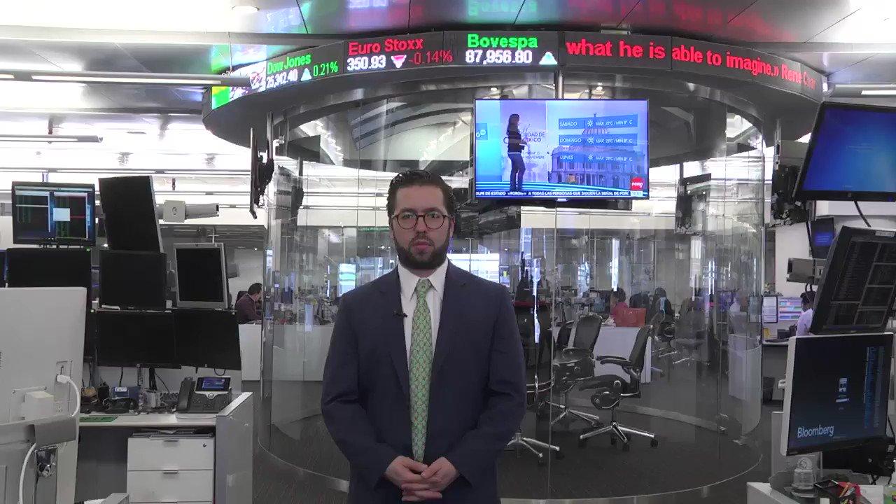 Perspectiva semanal de nuestro Estratega de Mercados; @santiagoleals. 19 al 23 de noviembre | #TipoDeCambio #BMV #Bonos #Mercados https://t.co/ZqB4v66uDN