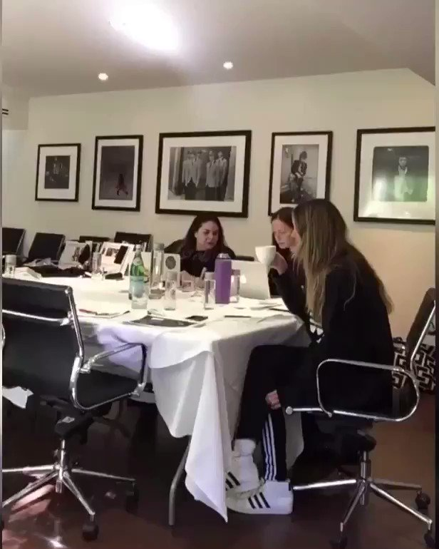 This is what an all day design meeting looks like for @HKintimates #Ad https://t.co/Ya0yJAT8oO