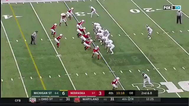 ANTONIO REED WITH THE HIT STICK https://t.co/AkrA6M38ec