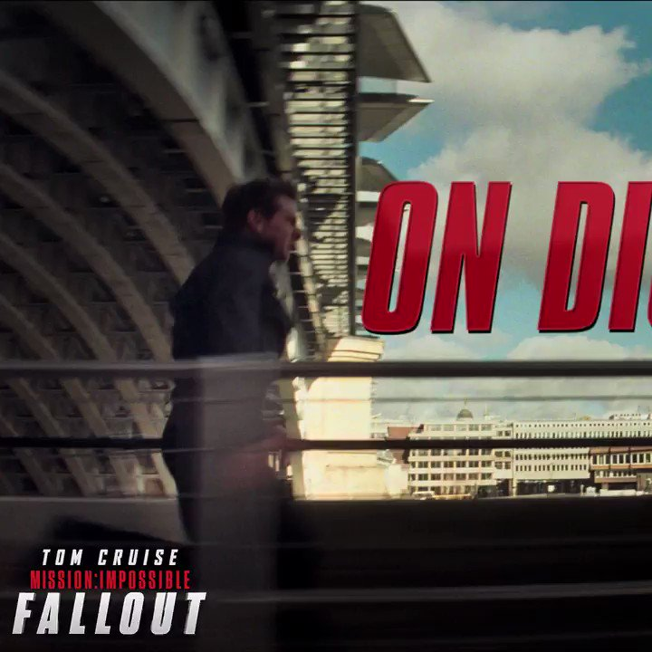 Today's the day. Mission: Impossible Fallout is on digital now. https://t.co/6veAeEmiEw