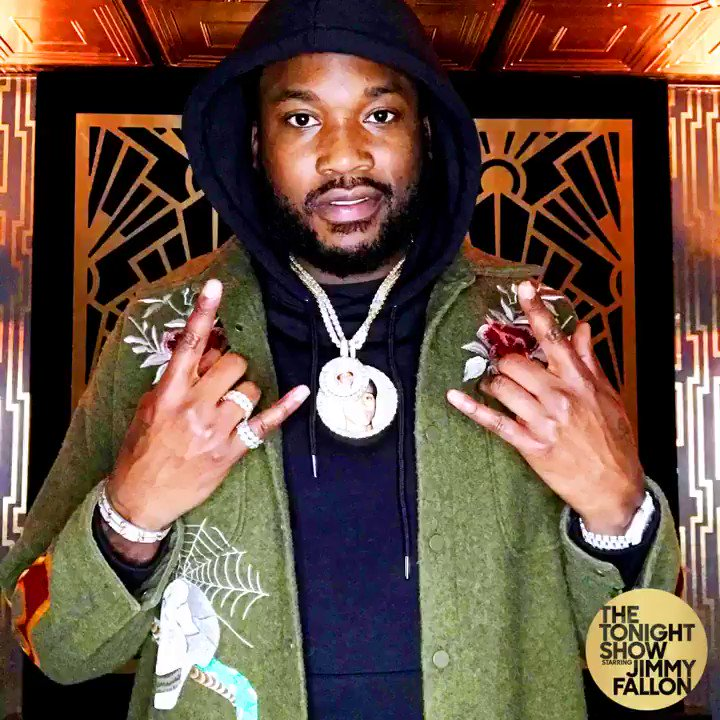RT @RocNation: Watch @MeekMill perform on @FallonTonight. Check your local listings for air times. #CHAMPIONSHIPS https://t.co/nJUN3Ed7GS