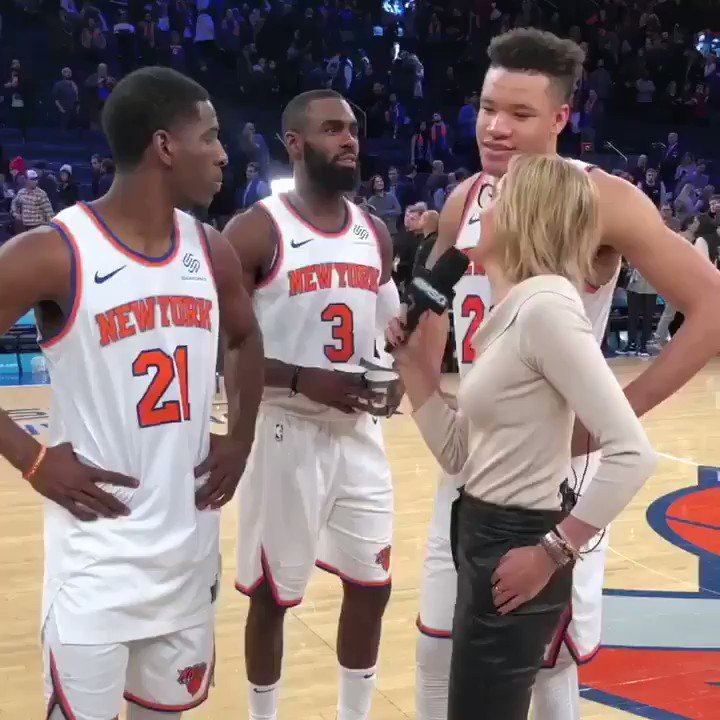 RT @nyknicks: Career night for @KevKnox ???? https://t.co/qvWZOzCd4F