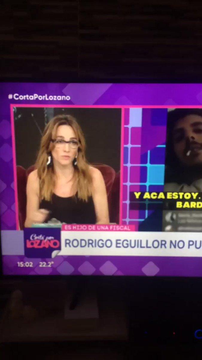 RT @MarielCanitrot: Verónica Lozano hablando de Rodrigo Eguillor. TE APLAUDO ???????? https://t.co/eFTHth5Arh