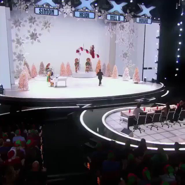Santa Baby... I have been an awfully good girl ????❤️ @agt @SalTheVoice https://t.co/LXe3BvFSJ8