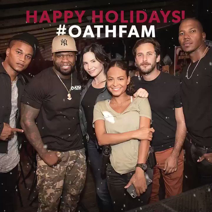 Happy holidays from #OathFam! @theoathcrackle Season 2 drops on @sonycrackle 2/21. 2019 is about to be lit ???????????? https://t.co/b4T9kyweAn