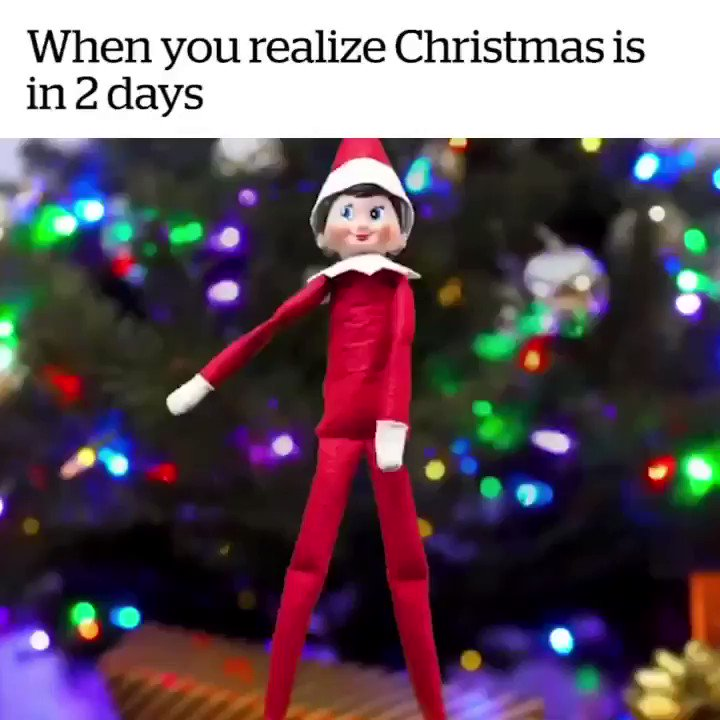 2 DAYS TILL CHRISTMAS ???? https://t.co/U8U7C7d36k