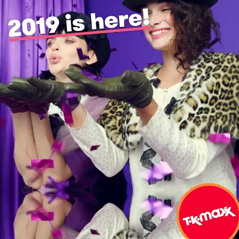 Happy New Year from all of us at TK Maxx! The year ahead is full of (ridiculous) possibilities – go get 'em. https://t.co/e4IVLanAjL