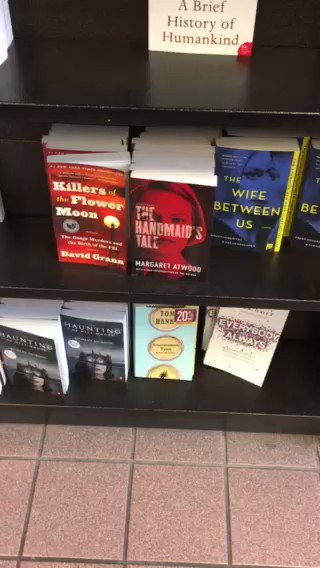 Forgive my aggressive marketing at a nearby bookstore. Hanx. https://t.co/nlsTf2Jzt4