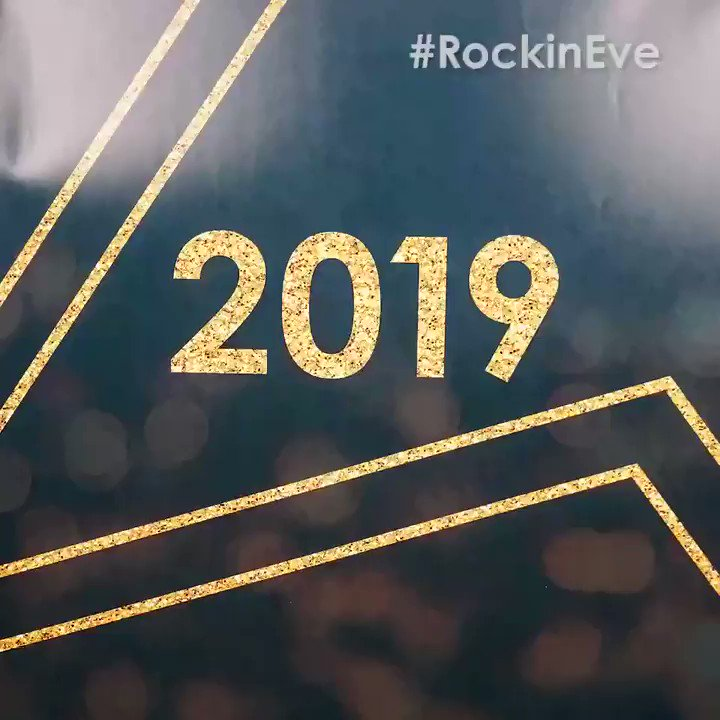 TONIGHT. @NYRE #rockineve ???? https://t.co/cNS7LCJXzn