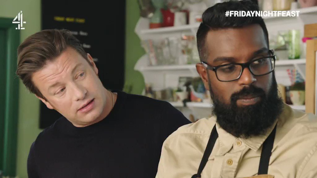When your mum compares you to Jamie… ???? @RomeshRanga   #FridayNightFeast https://t.co/MbjRePURMM