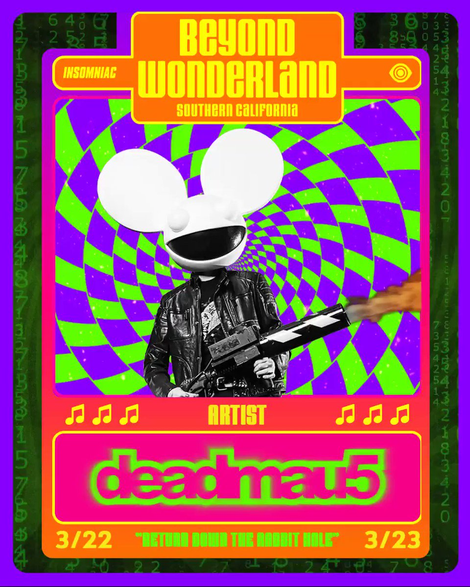 march 22/23. @BeyondWland. tkts on sale this friday at: https://t.co/QK7TbshiQq https://t.co/LPf08CjYl2