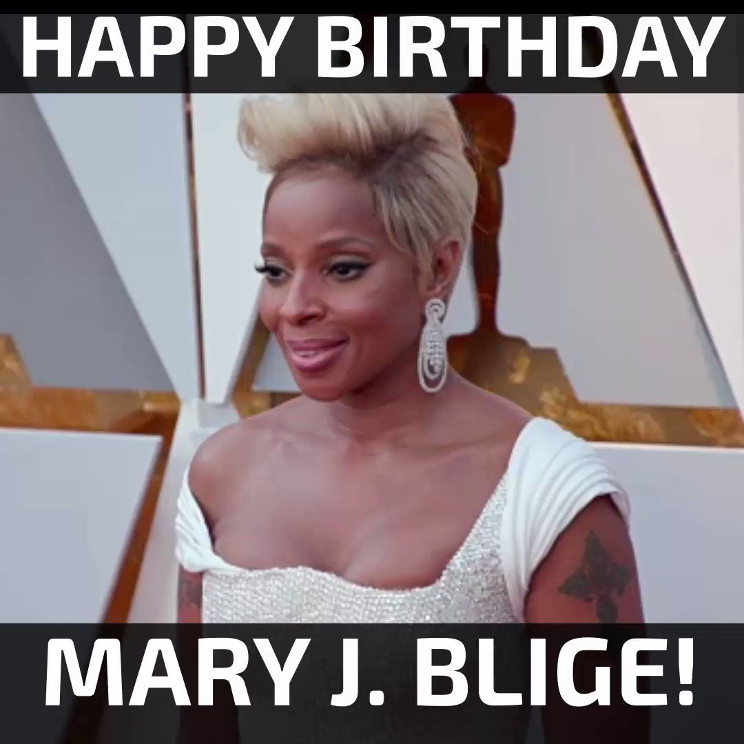 Happy Birthday, Mary J. Blige! [