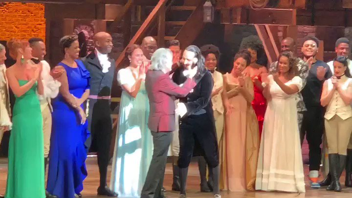 At the premiere of @HamiltonMusical as the show makes history in Puerto Rico @PIX11News with the incredible @Lin_Manuel https://t.co/liBh6cnr8F