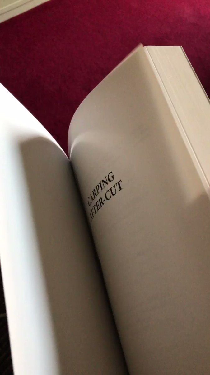Copies of my new book #<b>Carpingaftercut</b> here https://t.co/hGR476gWuR #carpfishing https://t.co
