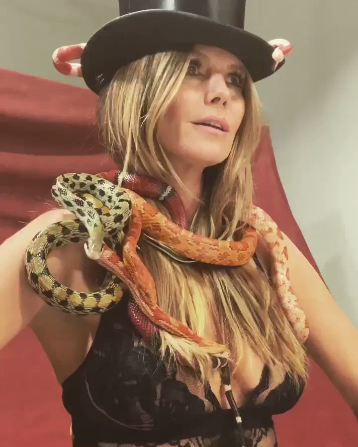 Loved spending the day with these beautiful snakes ❤️????????????????  #gntm2019  #snake https://t.co/peFATb7xqb