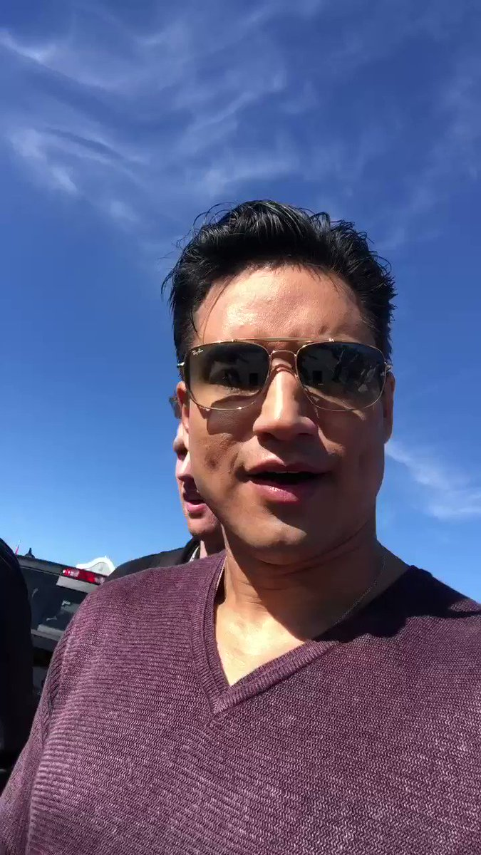 RT @MarioLopezExtra: I'm pumped up now. Thanks @Schwarzenegger!  #ArnoldStrongManClassic https://t.co/kDAtvwzYYF