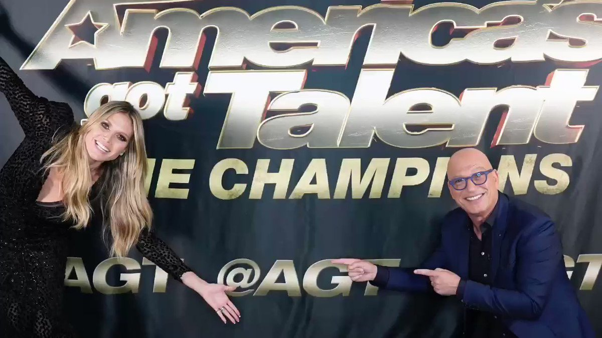 Are you excited for another week of #AGTChampions?! Because we are!!! @howiemandel @AGT https://t.co/MmsHRT996X
