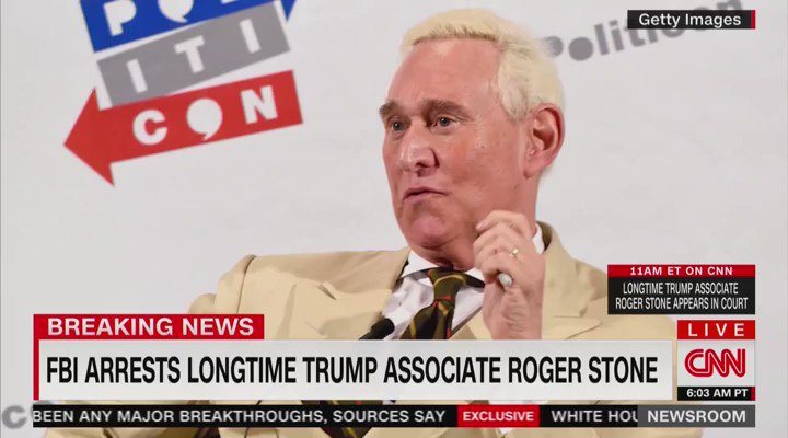 Never forget that CNN knew to be outside of Roger Stone's house the morning the FBI arrested him.  Will we ever find out who tipped them off?