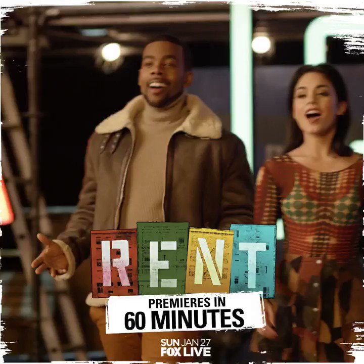 RT @OHYESMARIO: The countdown is on.   @RENTonFOX airs live in 1 hour. Tune in 8/7c. https://t.co/8aivjDdBZT