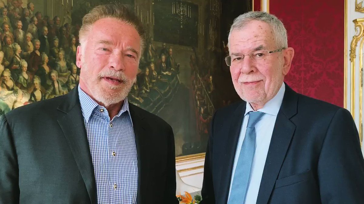 RT @vanderbellen: We stand side by side again for the @R20_AWS and more #ClimateAmbition ????. @Schwarzenegger https://t.co/f2vPstSeTz