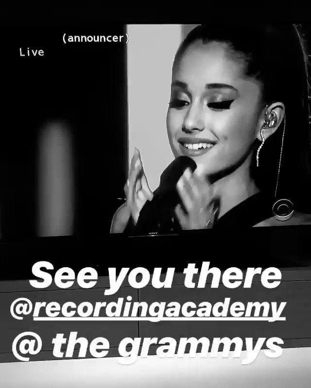See you at the GRAMMYS next Sunday!!! @RecordingAcad https://t.co/E08tdJNmLX