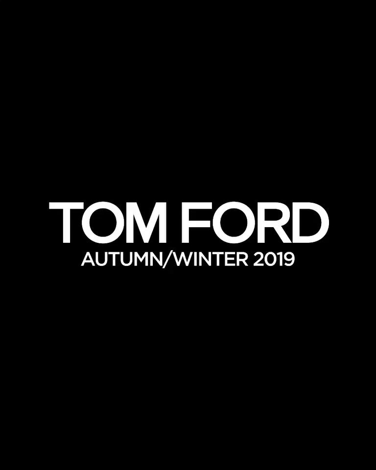 The TOM FORD Autumn/Winter 2019 Fashion Show. #TOMFORD #TOMFORDAW19 #NYFW https://t.co/IwKaDtOopP