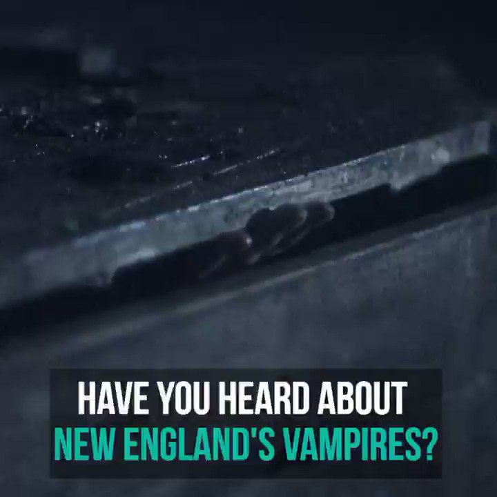 Is there proof that vampires once terrorized New England? 🧛🏻‍♂️ @patrickspain investigates tonight on #LegendHunter at 10|9c.   Stream the entire season now: https://t.co/4ZMyvBGrcT https://t.co/yVT8wjnBWp