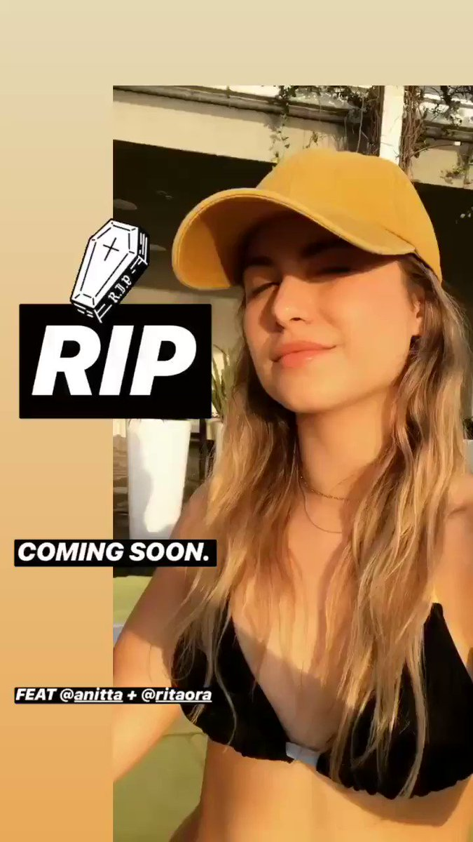 "RT @SoSofiaReyes: ""RIP"" COMING SOON. ft. @Anitta + @RitaOra ???? https://t.co/oOWWIAI0hH"