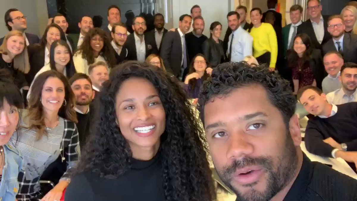 The Team Is Lit!!???? Can't Wait to share what we're cooking! Aaaah! @DangeRussWilson  #CAA #LevelUp https://t.co/VLAOBELS3Q