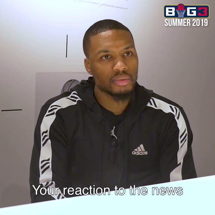 RT @thebig3: Real recognize real. (@Dame_Lillard) ???????????? #BIG3Season3 https://t.co/sqWn9GRZSt