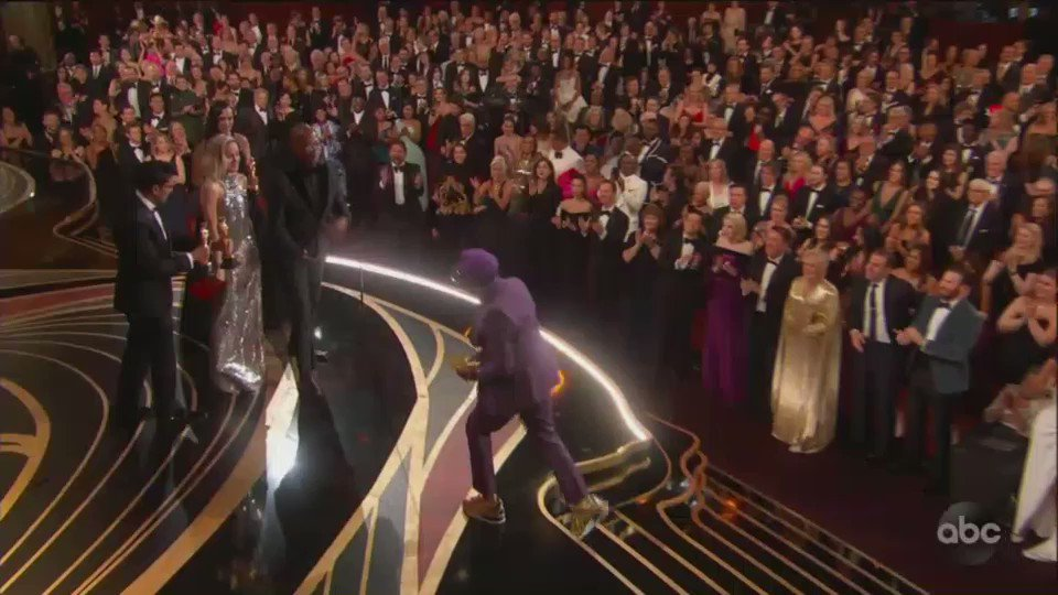 RT @Variety: This was Spike Lee's fifth #Oscars nomination and first win https://t.co/jntWa7IoZD https://t.co/II7RZwKt6I