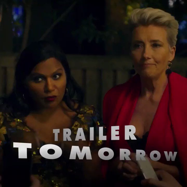 Dropping the @latenightmovie trailer tomorrow! ???? Yes, I am teasing the teaser. https://t.co/fNd3UrPHp9