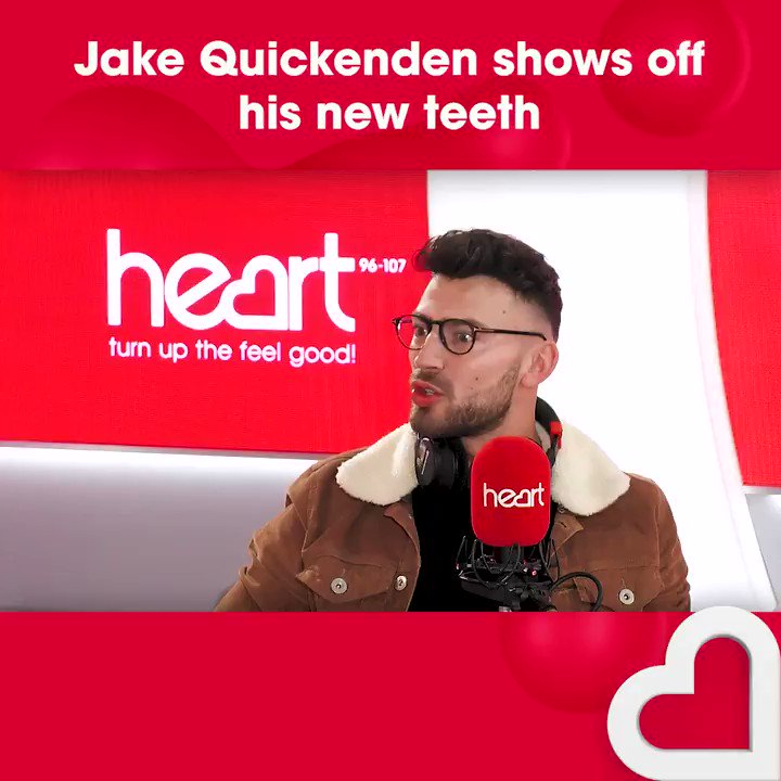 RT @thisisheart: Watch @IAMKELLYBROOK swoon over @JakeQuickenden and his brand new teeth! ???????? https://t.co/xOdmgxLyQZ