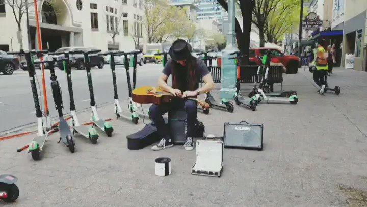 Love this guy!!! 🎸🤘❤️ @CharlesRangelMusic . . #charlesrangel #streetperformer #musician #sxsw #atx #talented #guitarist #acousticguitar #music https://t.co/BsmJLvyYJ9